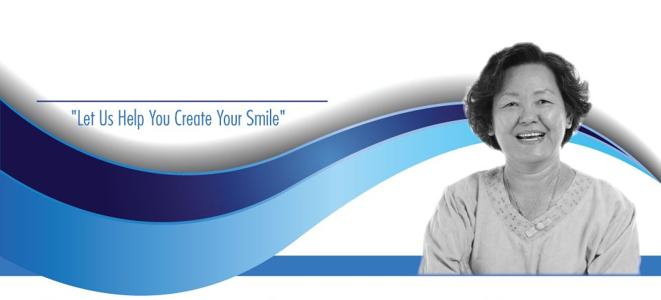 """Let Us Help You Create Your Smile""-asian woman smiling"