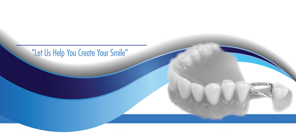 """Let Us Help You Create Your Smile""-partial denture"